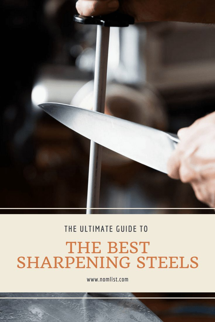 How the heck do you sharpen a knife with a stick? Well, we did the research for you and gave you the ULTIMATE guide to the best sharpening steels on the market and a little extra info, too! #sharpening #knives #kitchenware #kitchenknives #knife #knifelife #kitchens #cooking #cookingtools