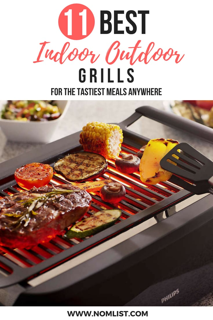Cook up your favorite grilled healthy delights in the comfort of your own home or even camping! We found the best indoor outdoor electric grills that will seriously change up your cooking game, no matter where you are! #grill #grillngrecipes #allaboutgrills #grills #barbecue #bbq #indoorgrills #kbbq #koreanbarbecue #indoorgrill