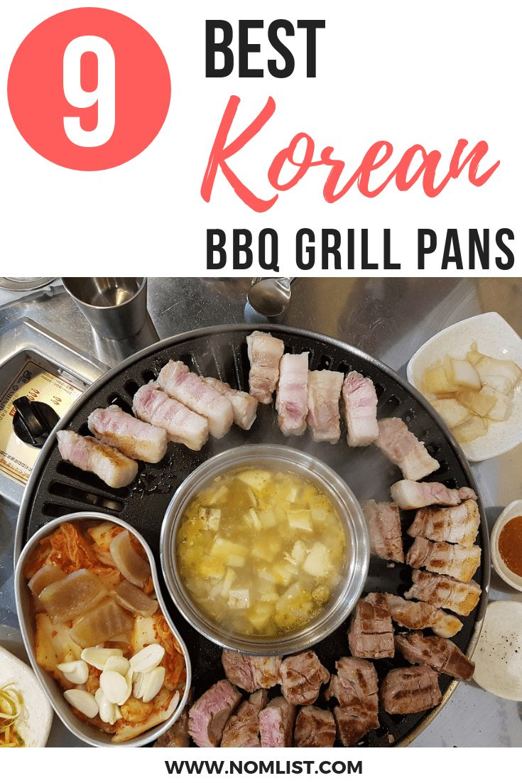 The Korean BBQ grill pan is frequently made of cast iron or heavy grade diecast aluminum and is grooved to allow fats and juices to drain away slowly. Here are our top 10 best picks! #koreanbbq #korean #koreanbbqgrill #koreangrill #grillpan #kitchentools #kitchenappliances #kitchenware #koreankitchen #koreanrecipes #koreanfood