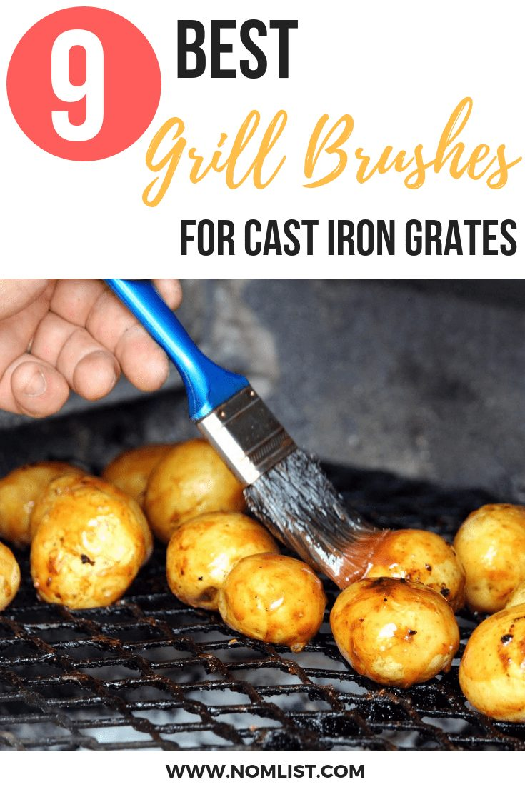 We included these brushes below as some of the best grill brushes for cast iron grates. With these brushes, you will not have to worry about flimsy handles. #grillbrushes #grills #grilling #grill #brushes #cleangrill #grillcleaning