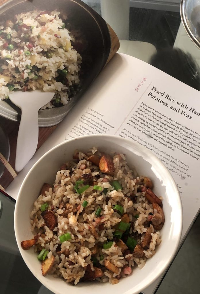Cooking South of the Clouds Fried Rice