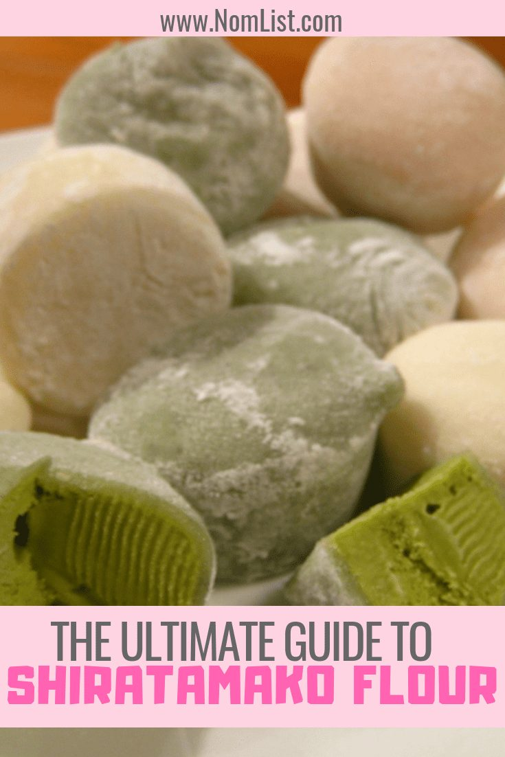 Shiratamako is a type of sweet or glutinous rice flour. It's used specifically to make Japanese sweets. Here's our ultimate guide to Shiratamako flour! #japanesefood #japaneserecipes #japaneseflour #baking #mochi #mochiflour #flour #kitchen #recipes #worldflavors