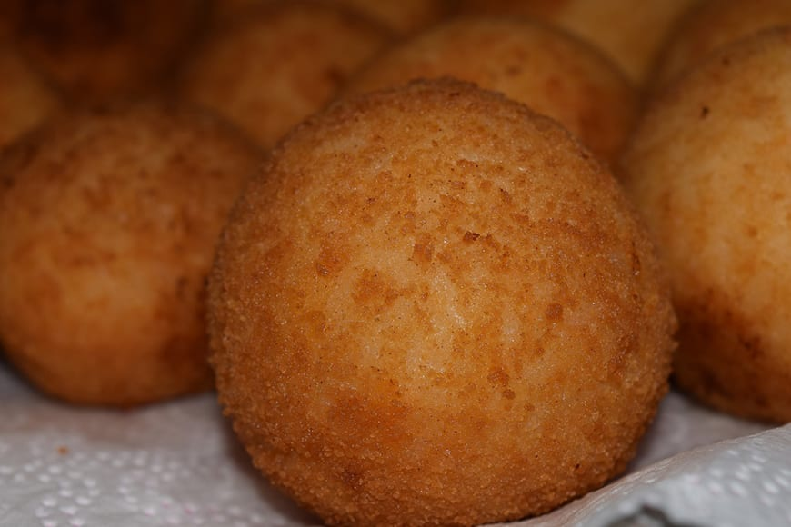 What the eat in Sicily - Arancini