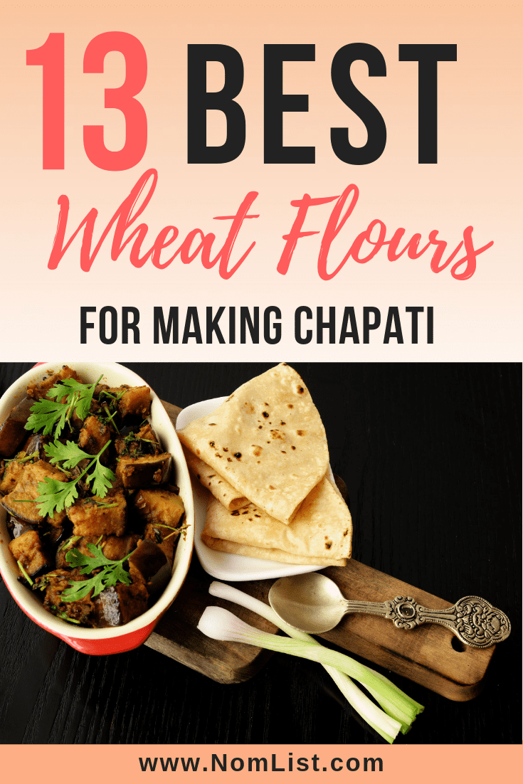 The right wheat flour will play a big part in the texture and taste of your chapati both during the making process and the cooked chapati. Here are the best wheat flours for making chapati #chapati #indian #indianfood #indiancooking #wheatflour #flour #indianrecipes #indiancuisine