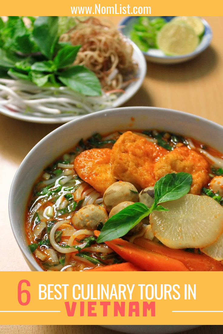 Vietnamese cuisine encompasses all of the best parts about Asian cooking: fish sauces, fermented veggies mixed with fresh herbs, the hot sauces and simmered meats. We have found the best six culinary tours all around Vietnam, from Hanoi to Ho Chi Minh City! #vietnam #culinarytour #worldfood #vietnamesefood #culinarytours #culinaryvacations #vietnamese #asianfood