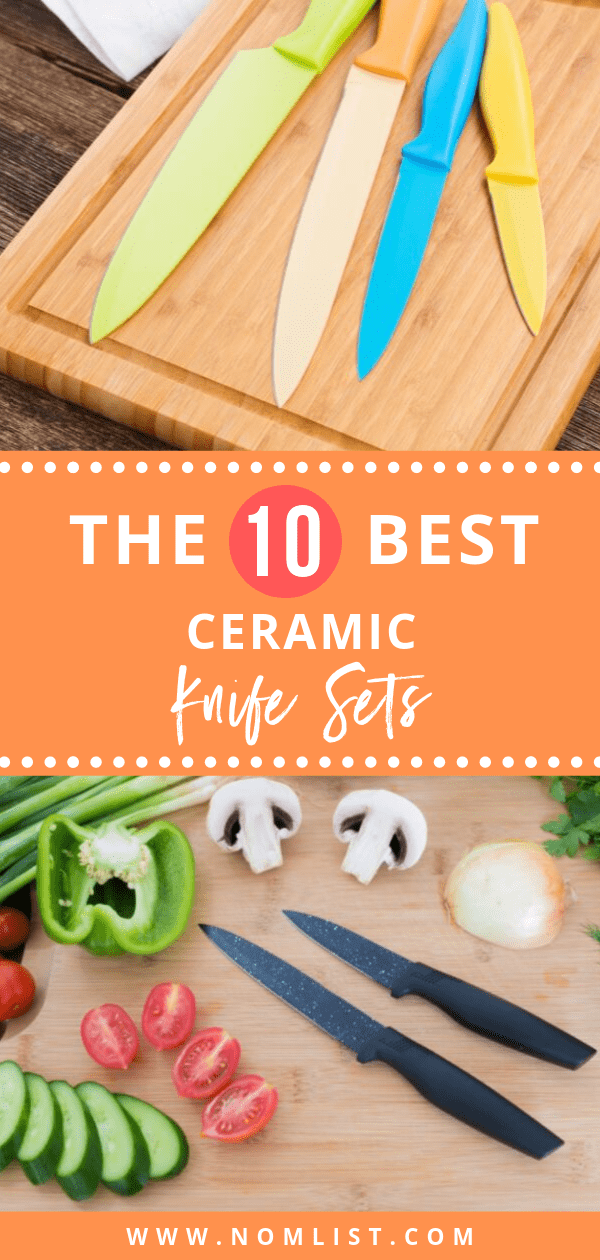 Ceramic knives offer a variety of pluses that may cause you to convert. So, how do you get your hands on them? We did the dirty work for you and found the best ceramic knife sets on the market just for you! #knife #knifeset #knives #kitchenknives #kitchen #kitchentools #cutlery #knifesets #ceramic #ceramicknives #ceramicknife