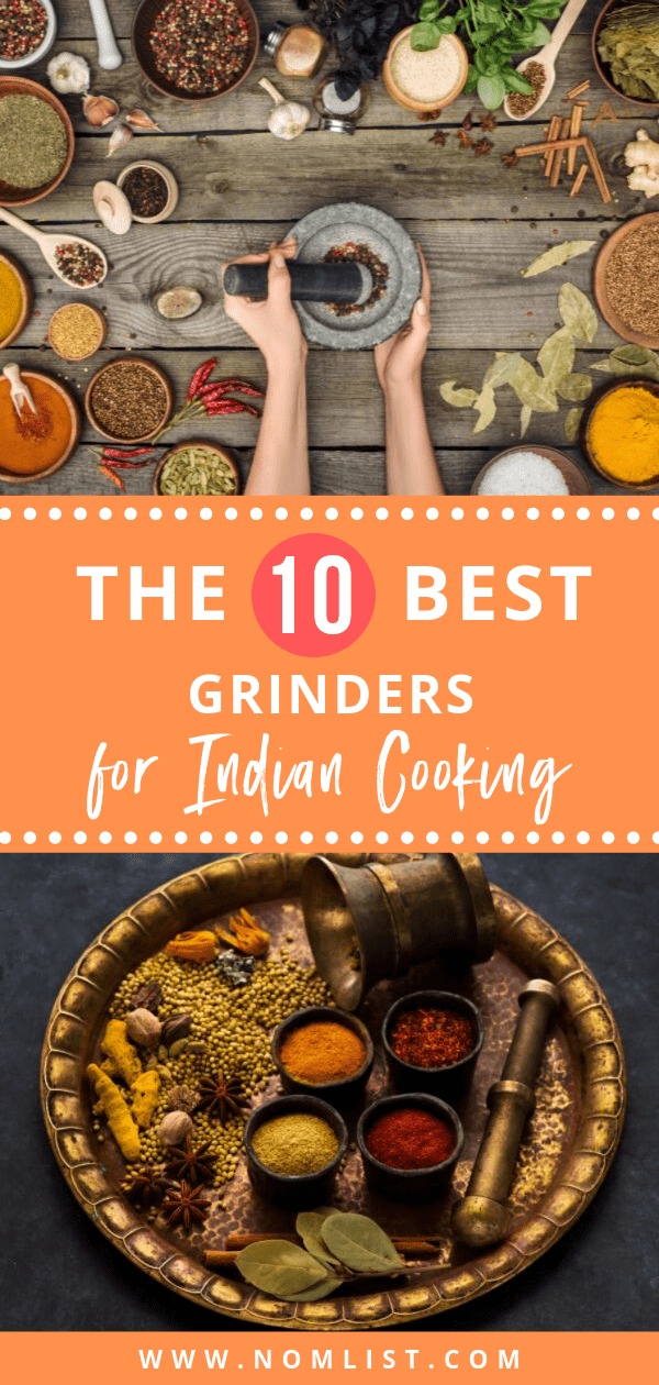 If you're as big of a fan of Indian cooking as we are, then you'll know that the perfect spices are what makes a dish stand out. That's why we found the best grinders for Indian cooking. #indian #indiancooking #grinders #indiangrinders #spices #spice #spicegrinder #indianrecipes #indiancuisine