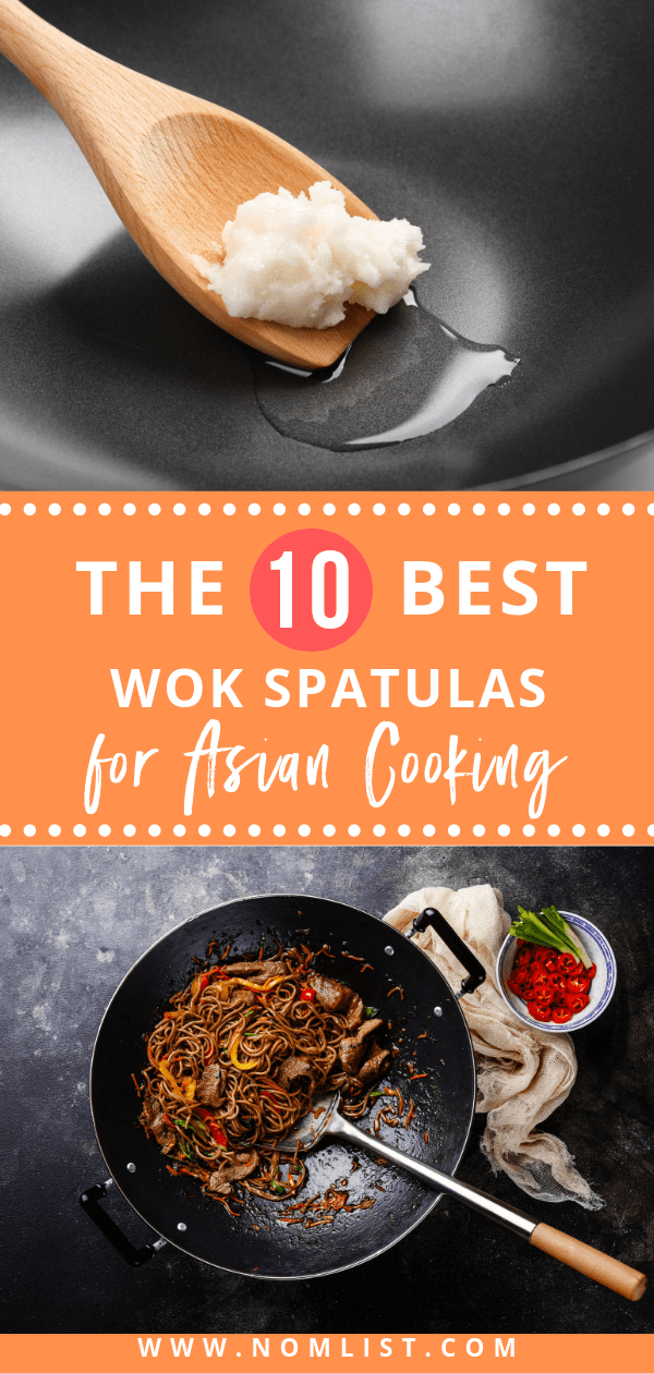 Good food is created with great quality cookware. We found some of the best wok spatulas on the market and tested them for your viewing pleasure.  #wokspatula #woks #chinesecooking #chinesefood #chineserecipes #wokcooking #wokrecipes #spatuals #kiitchentools #kitchenutensils