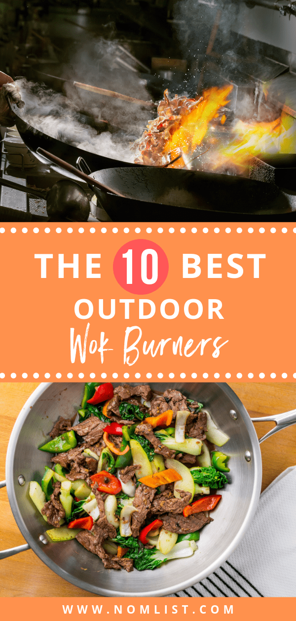 Nothing beats a delicious outdoor stir-fry just like they do in Thailand. Check out the best outdoor wok burners on the market for your next summer time get together. #wok #woklife #wokburner #woks #kitchenwok #chinesefood #chinese #outdoorwok #outdoorcooking #cooking #kitchentools #kitchenware