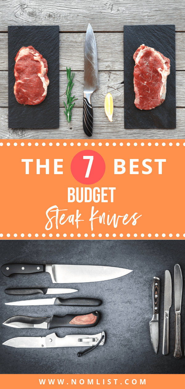 Get the quality of restaurant steak knives with a price that's just right for you! Below, we have the best 7 steak knives sets for you - with options for different colors and designs!#steakknives #knives #knife #steakknife #steak #meat #kitchentools #kitchenware #kitchenutensils