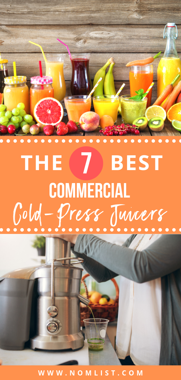 Whether you are a celebrity, influencer, or daily consumer, these commercial cold pressed juicers allow you to have creativity and ease in making delicious, fresh juice. #juicer #coldpressed #juicing #juice  #coldpressjuicer #juicerlife #healthy #healthyrecipes #healthyjuice #healthfood #kitchenappliances #kitchenware