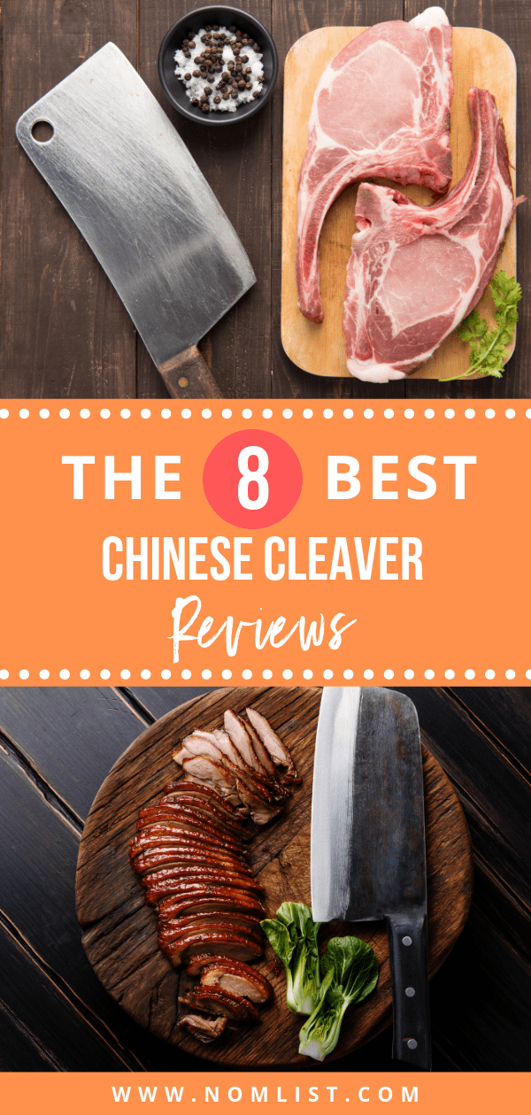 When it comes to finding the perfect multi-functional kitchen cutting tool, nothing beats the benefits of using a Chinese cleaver. Check out our best Chinese cleaver reviews and see which one matches your kitchen arsenal perfectly.  #cleaver #chinesecleaver #kitchenknives #kitchencleaver #cleavers #chinesefood #chineserecipes #chineseknives