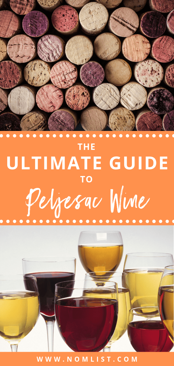The Peljesac Peninsula is a popular wine region, situated along the Adriatic coast in Croatia. The peninsula produces some of the best-known wines in Croatia. That's why we put together the ultimate guide to Peljesac Wine. #wine #peljesac #croatiia #croatianwine #wineo #allthingswine #grapes #peljesacwine