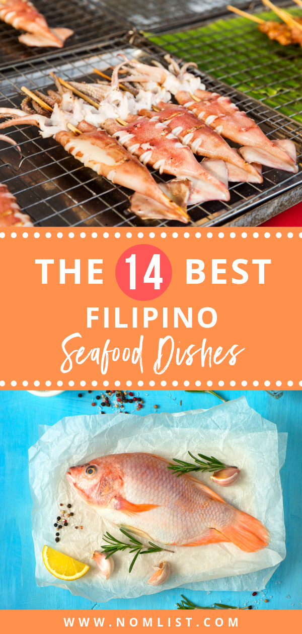 Here are fourteen of the dishes you should definitely try if you visit the Philippines or go to a Filippino restaurant! We've also included some local restaurants around the Philippines where you can find these dishes! #filippino #filippinofood #filippinocuisine #Philippines #travelfood #asianfood #asiancuisine #asianrecipes