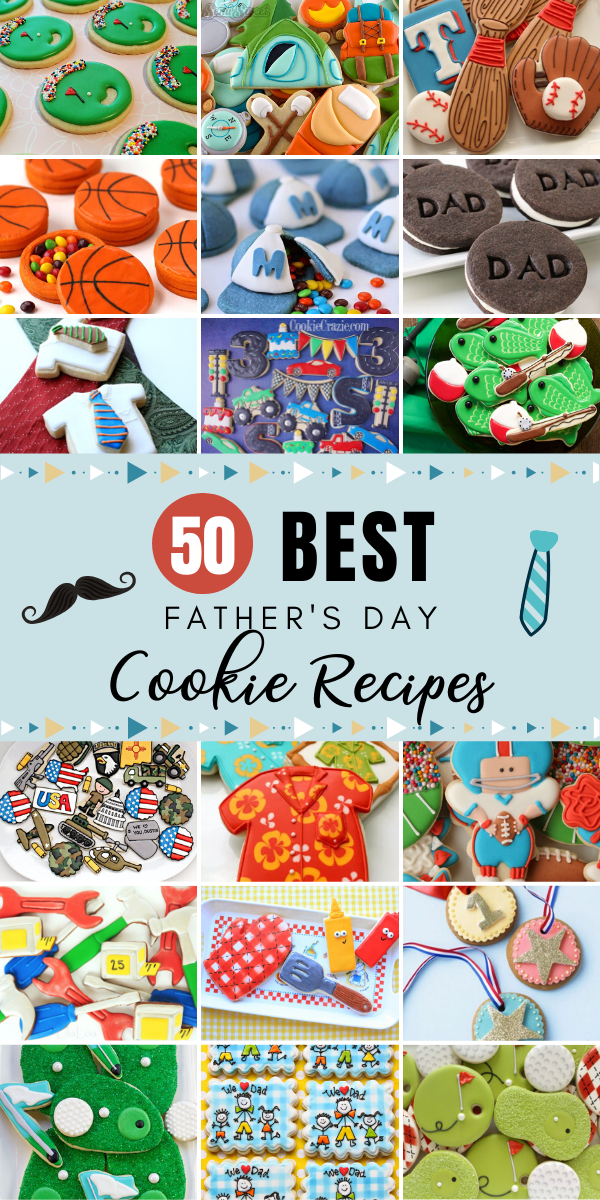 There's no better way to say Happy Father's Day with some fresh home-baked cookies. Check out the best father's day cookie recipes that Dad will love! #fathersday #fathersdaycookie #cookie #cookies #cookierecipes