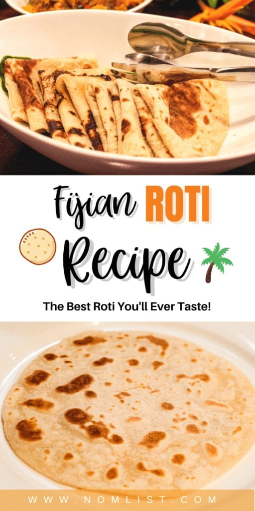 As someone who loves anything carbolicious, there's nothing better than satisfying your cravings with this delicious Fijian Roti Recipe. It's an easy recipe that even the most inexperienced cooks out there can make at home. #fijiianfood #fiji #roti #rotirecipe #indianfood #indianrecipe #india