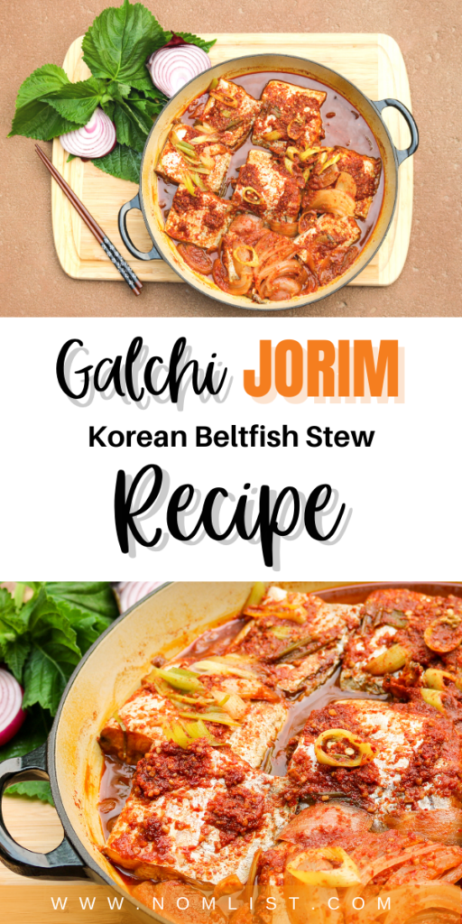 Want to try out a delicoiuos pescatarian traditioanl Korean dish? Galchi Jorim is one of my favorite childhood recipes that I'm excited to share with you today. #fish #koreanrecipes #koreanfood #souprecipes #asianfood