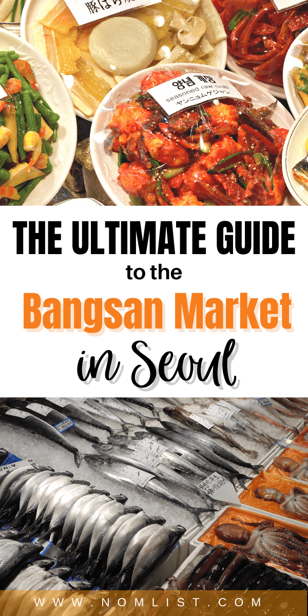 uckily for you if you live in Seoul, you have the Bangsan market for your convenience. This place is just amazing since you have 550 shops all in one place! #korea #seoul #market #koreanmarket #koreatravel #travel