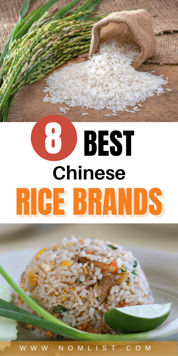 If you're looking for a way to get authentic Chinese rice in the comfort of your own home, you need to get the right brand of rice. Check out our roundup of the 8 best Chinese rice brands on the market! #rice #ricebrands #chinese #chinesefood #chineserice