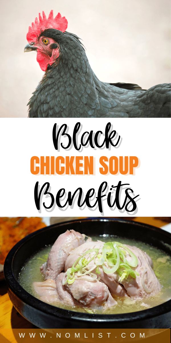 Did you know that different types of chicken can actually give you different flavors in your soup? We give you the low down on everything you need to know about black chicken soup benefits for your health and happiness. #blackchicken #chickensoup #chicken #foodfacts