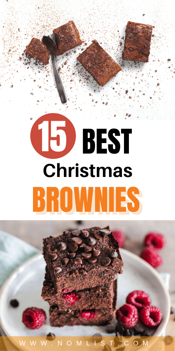 Looking for a delicious way to celebrate Christmas? Check out these Christmas brownies that your whole family will love. #brownies #dessert #christmasrecipes #christmasbrownies