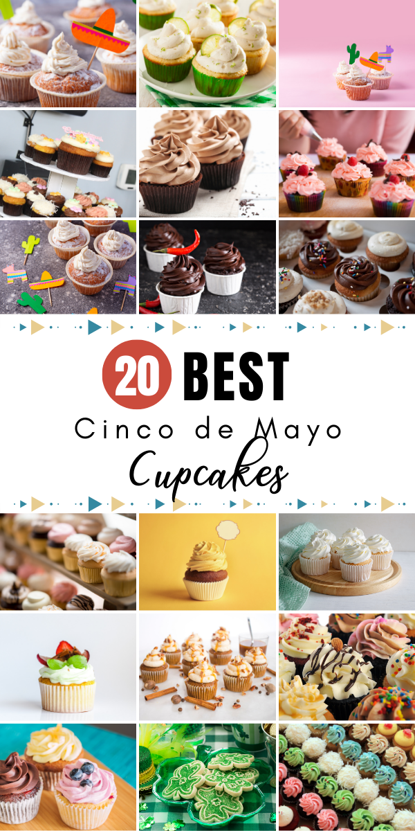Cinco de Mayo is a time where you can celebrate with family and friends. The best way to do it is with delicious baked goods. We've pulled together the best Cinco de Mayo cupcake recipes that you, your family, and friends will enjoy. Time to satisfy that sweet tooth!