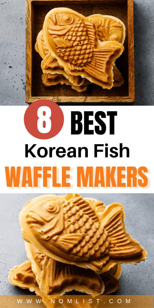 Want to make delicious Korean fish waffles in the comfort of your own home? Check out these awesome fish waffle makers!