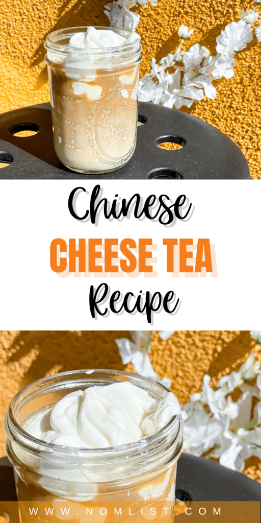 I know you might be thinking that cheese tea doesn't exactly sound that appealing. The truth is, this Chinese Cheese Tea recipe will pleasantly blow your tastebuds out of this world. It's a decadent and delightful treat that's easy to make and will have you going back for seconds.