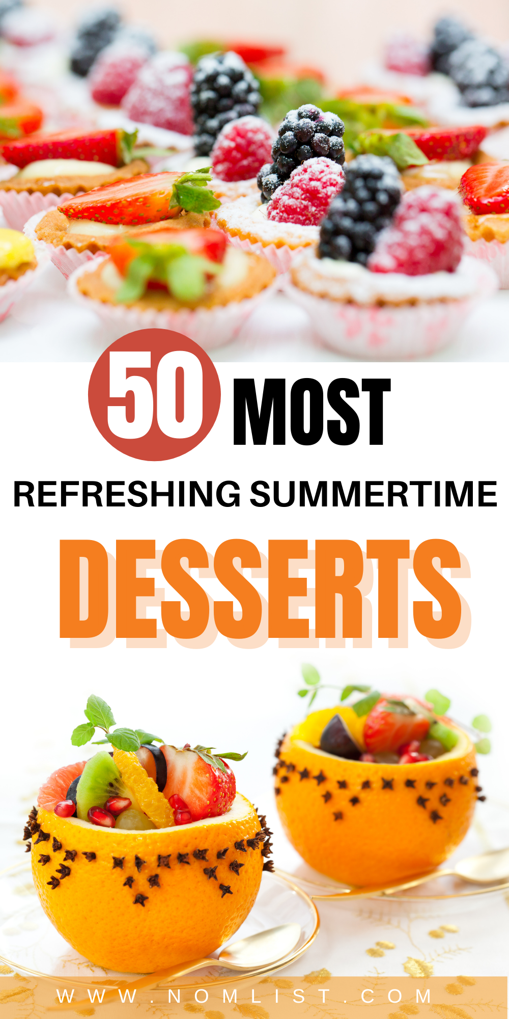Summer is here, and there's no better way to celebrate your summer bod with a refreshing treat. These are the best refreshing summertime desserts that you will love and your body will love you for.